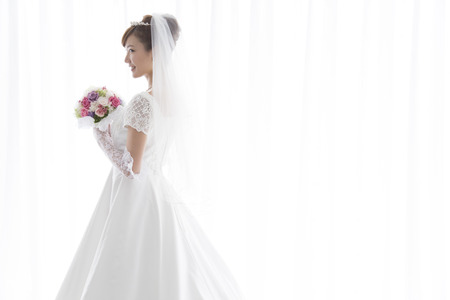 Photo for Smiling bride - Royalty Free Image