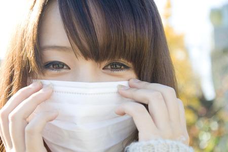 Photo pour Female mask - image libre de droit