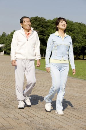 Photo for Couple in Walking - Royalty Free Image