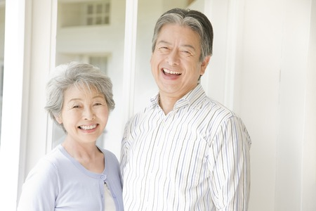 Photo for An elderly couple have to laugh - Royalty Free Image