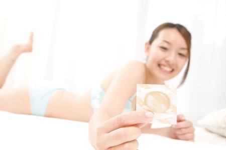 Foto de Women with a contraceptive - Imagen libre de derechos