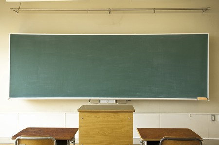 Photo for On the chalkboard of the classroom - Royalty Free Image