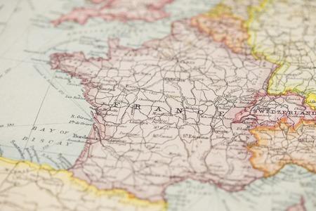 Photo pour Old world map - image libre de droit