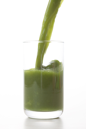 Photo pour Blue juice - image libre de droit