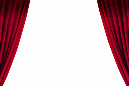 Photo for Stage curtains - Royalty Free Image
