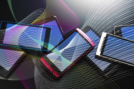Photo pour Smart phone - image libre de droit