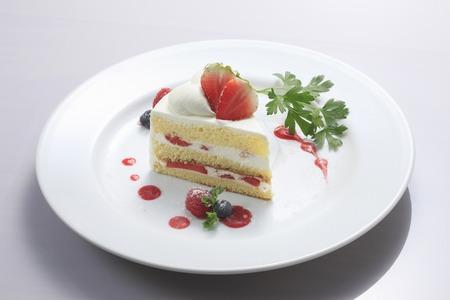 Foto de Strawberry cake - Imagen libre de derechos