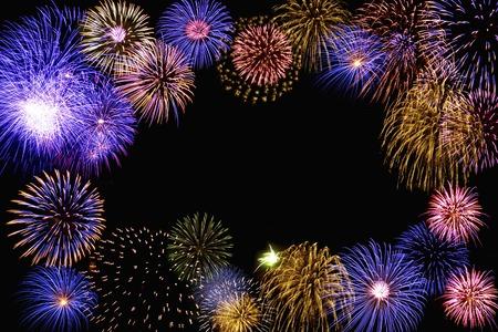 Photo pour Fireworks images - image libre de droit