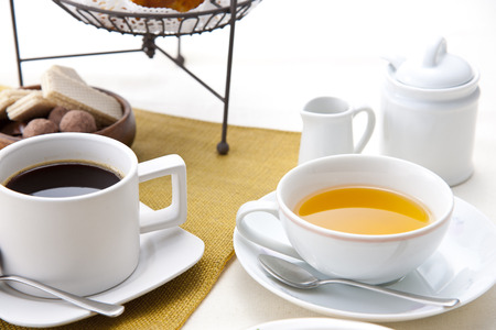 Photo for Coffee and tea - Royalty Free Image