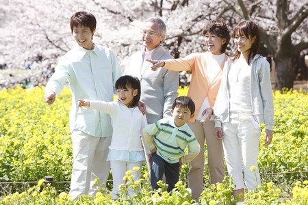 Third-generation family portrait.