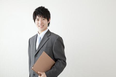 Photo pour Smiling businessman - image libre de droit