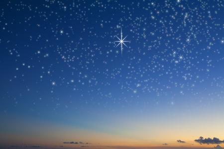 Foto de Starry sky - Imagen libre de derechos