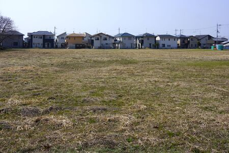 Photo for New residential and vacant land - Royalty Free Image