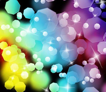 Photo pour Abstract colorful light background  - image libre de droit