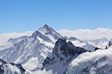 Photo pour Winter landscape in the Matterhorn - image libre de droit