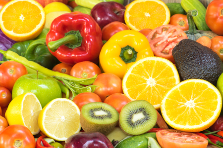Photo for Fruits and vegetables for healthy - Royalty Free Image