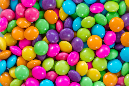 Photo for Colorful chocolate candy for backgrounds - Royalty Free Image