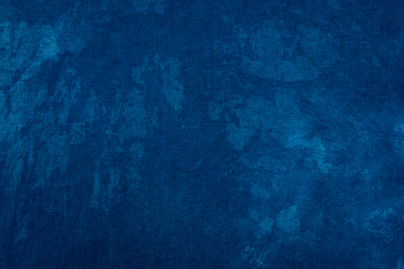 Photo for Blue dye indigo background - Royalty Free Image