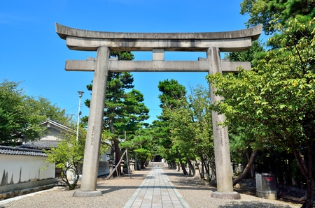 Photo for Shrine in Kyoto - Royalty Free Image