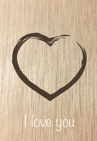 Foto de i love you card - Imagen libre de derechos