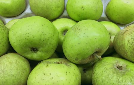 Foto de green apples group - Imagen libre de derechos