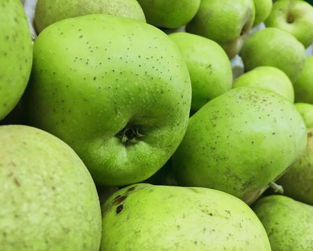 Foto de green apples fruits - Imagen libre de derechos
