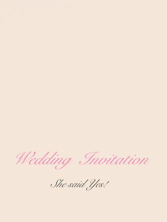 Foto de wedding invitation - Imagen libre de derechos