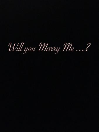 Foto de will you marry me? - Imagen libre de derechos