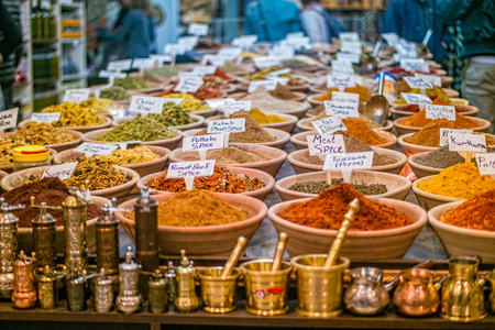 Photo for Spices at the market in the old city Jerusalem, Israel - Royalty Free Image