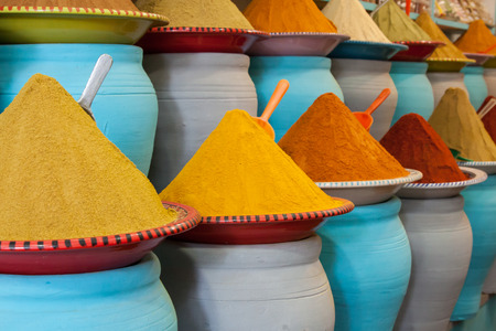 Photo for Spices at the market Marrakech, Morocco - Royalty Free Image