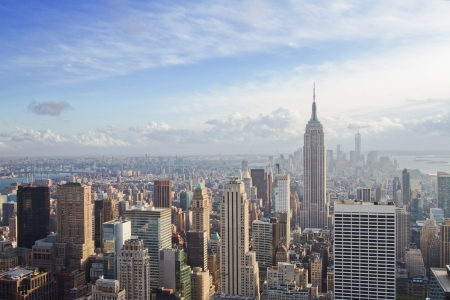 Photo pour beautiful view of New York city - image libre de droit