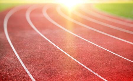 Foto de running track for athletics and competition - Imagen libre de derechos