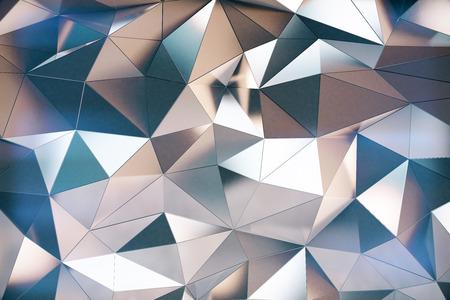 Photo pour Abstarct 3d futuristic graphite wall - image libre de droit