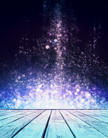 Photo for Creative sparkly stage. Creativity concept - Royalty Free Image