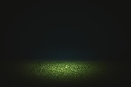 Photo pour Creative black football field background. Copy space  - image libre de droit