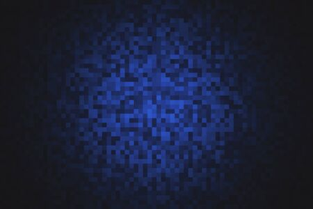 Foto de Creative digital pixel backdrop. Web design concept. 3D Rendering - Imagen libre de derechos