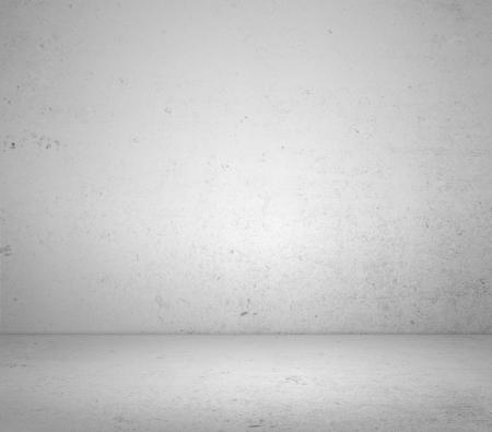 High resolution white plaster room