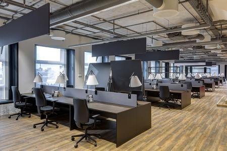 Foto für Large modern office with open space to work - Lizenzfreies Bild