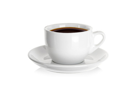 Photo for Porcelain cup of coffee - Royalty Free Image