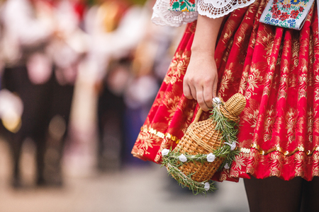 Photo for Czech woman costume - Royalty Free Image