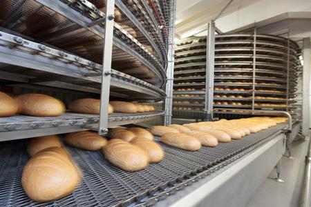 Foto de Bread bakery food factory. - Imagen libre de derechos