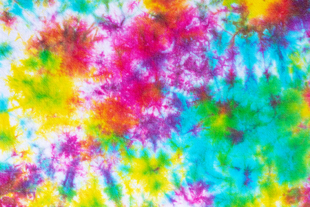 Photo for colorful tie dye pattern abstract background. - Royalty Free Image