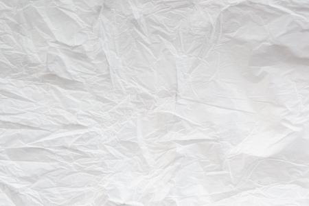 Foto de white crumpled paper texture background - Imagen libre de derechos