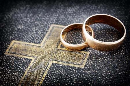 Photo pour Marriage  macro photo   - image libre de droit