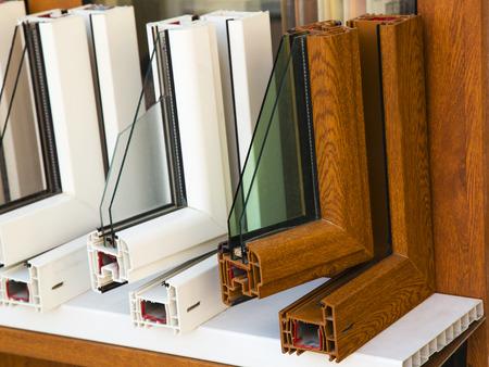 Photo pour Modern windows profiles - image libre de droit