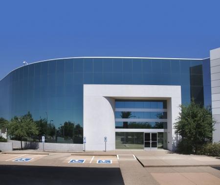 Foto de Modern office building - Imagen libre de derechos