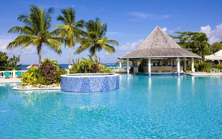 hotel\'s swimming pool, Tobago