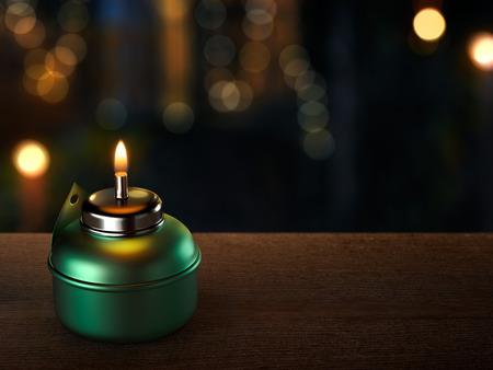 Photo for Ramadan Oil Lamp - Royalty Free Image