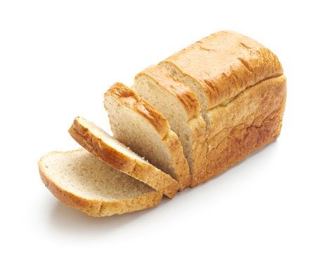 Photo for Sliced bread isolated on a white - Royalty Free Image