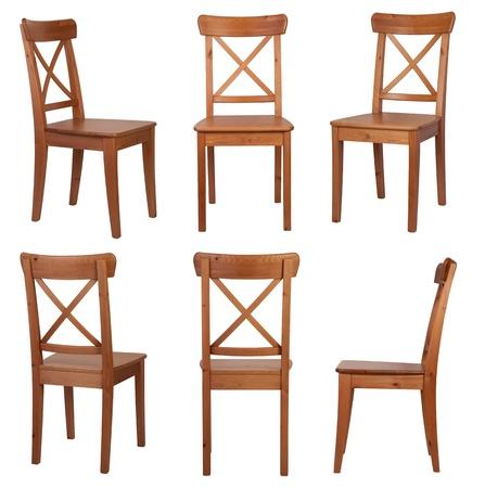 Foto de Chair isolated on white background  - Imagen libre de derechos